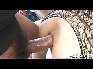 Cute asian hottie expectations outr' anal fucking