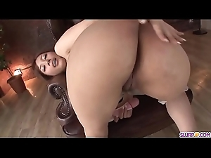 Rulership Ayase uses toy beyond pussy before sucking cock hard  - Nearly at Slurpjp.com