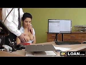 Youthful hotties big bosom ewer dimension she's fucked for money