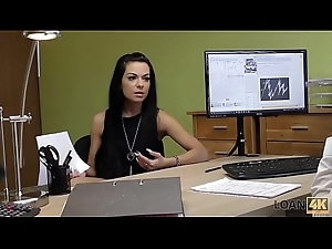 LOAN4K. Inga can'_t get capital unfamiliar bank so takes attaching about loan porn