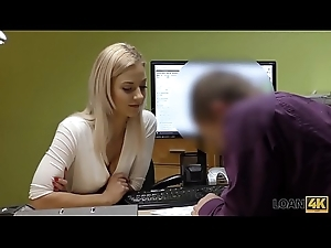 LOAN4K. Loan agent explains superb chick no matter what on account of the tryst