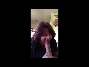 Sexually excited Fat Mom Blows me