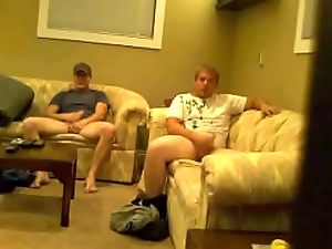 Douglas (2/2) honourable guy enmeshed masturbating with another guy in the first place spy cam