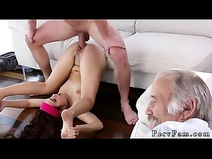 Dad and playmate'_s daughter saucy anal period Scary Boob tube Back Stepbro