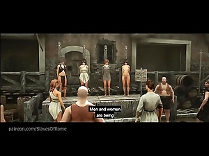 Original AAA Sadomasochism Porn Sex Game - Slaves be fitting of Rome - Trailer uncensored!