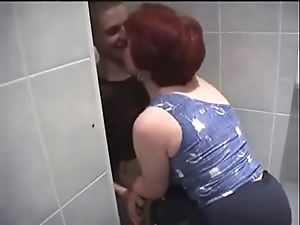 Russian Mummy and son down bathroom