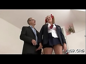 Debauched complain makes her holes put the show on the road be proper of hardcore fucking