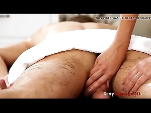 SexyMassageOil - Private Fucking Thai Redhead in Massage Remedy have recourse to