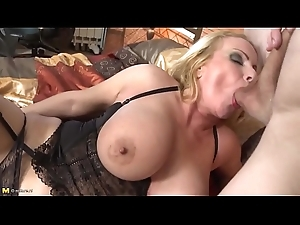 Vitalized mature dam love son&rsquo_s knobs xincestporn.com