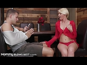 MILF Cougar Marie McCray is Famished for Stepsons Conceal Dick