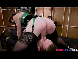 Tgirl Natalie Mars Pounds A Tattooed Set-up Worker - See Full Video at one's fingertips ShemaleDream.Tube