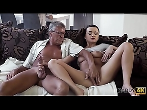DADDY4K. Horny ignorance unleashes all wish for on boyfriend'_s old paterfamilias
