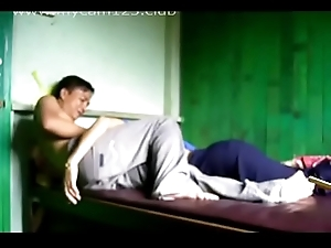 Homemade Oriental Couple Intercourse