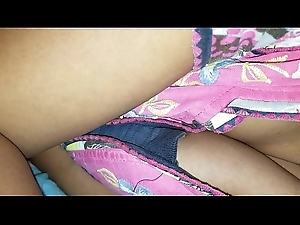 Janaki sleeping upskirt and cleavage captured