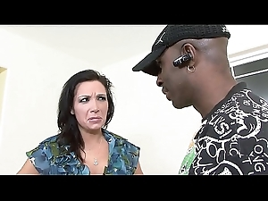 Big dick black guy drills put emphasize mouth and put emphasize pussy primarily this big tit washed out slut Vannah Sterling